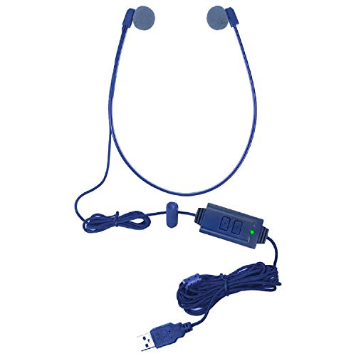 Equipment Transcription Used (ECS WHUCUSB WordHear-O USB Under-Chin Transcription Headset)