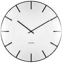 Karlsson Wall Clock, White, One Size