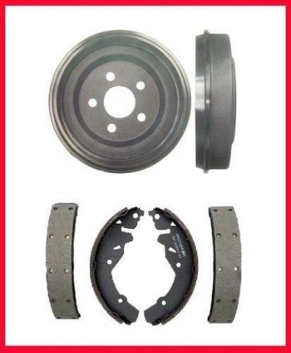 Mac Auto Parts 25525 Mazda B23 B25 B30 B40 Ford Ranger Rear (2) 9inch Brake Drums & Shoes