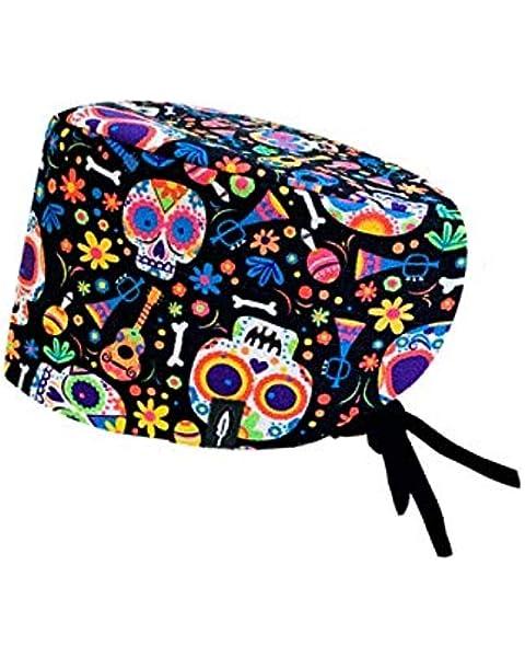 Robin Hat - Gorro de Quirófano Modelo: Catrina - Pelo Largo - 100% Algodón (autoclave) - Tamaño Ajustable.: Amazon.es: Salud y cuidado personal