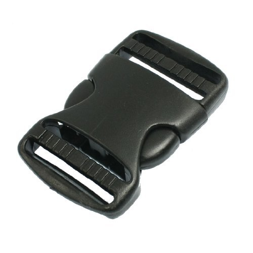 Water & Wood 1 1/2 Replacement Belt Connecting Black Plastic Quick Release Buckle