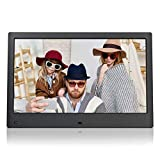NIX Advance 13 Inch Digital Photo Frame X13C - Digital Picture Frame with IPS Display, Motion Sensor, USB and SD Card Slots and Remote Control