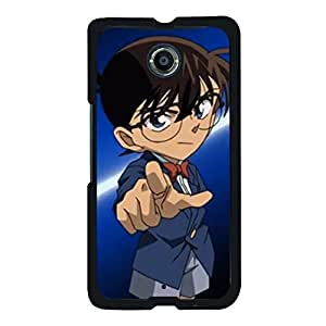 Google Nexus 6 Elegant Cool Design Detective Conan Phone Case for Google Nexus 6 Passionate Anime Detective Conan Cover Case