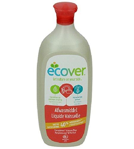 Ecover - 411010684 - Líquido lavavajillas - pomelo y té verde - 1 ...