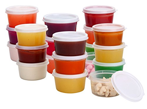 Greenco Mini Food Storage Containers Condiment and Sauce Containers Baby Food Storage and  sc 1 st  HotCouponWorld & Greenco Mini Food Storage Containers Condiment and Sauce Containers