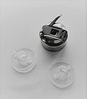 Canillero maquinas de coser Alfa, Singer, Lervia, etc. + 2 canillas de