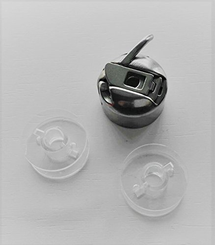 Canillero maquinas de coser Alfa, Singer, Lervia, etc. + 2 canillas de plastico: Amazon.es: Hogar