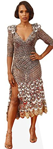 Kerry Washington Mini Cutout - Confirmation Of Cost Delivery