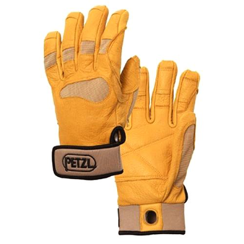 Petzl CORDEX+ belay/rap glove Tan XL (Petzl Gloves Cordex)