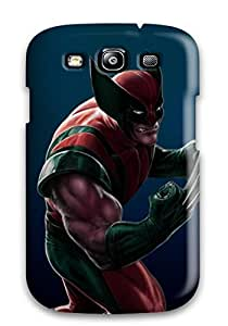 New Style Case Cover SyxcJqV5020aaHAa Wolverine Character Compatible With Galaxy S3 Protection Case