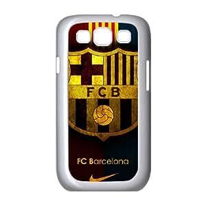 Samsung Galaxy S3 9300 Cell Phone Case White Barcelona Football aql