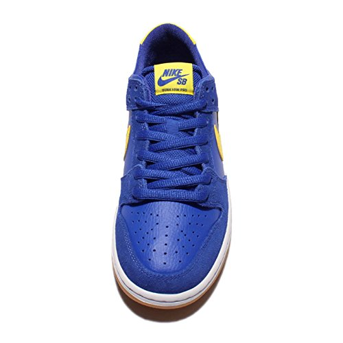 White Pro da Royal Skateboard Nike Dunk Uomo Varsity Lightening Low Scarpe Iw UaEPT