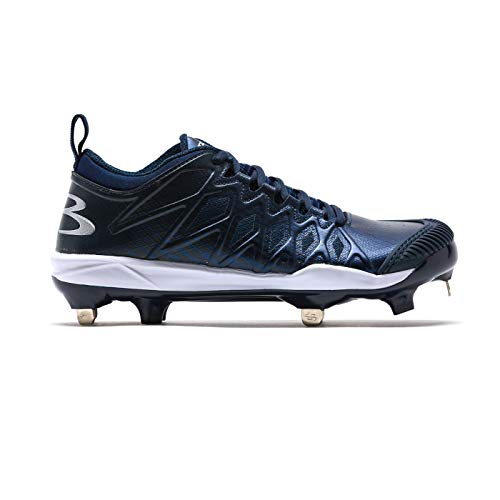 3c002a4ca7a4 Boombah Women's Squadron Pitcher's Toe Metal Cleats Navy - Size 8.5