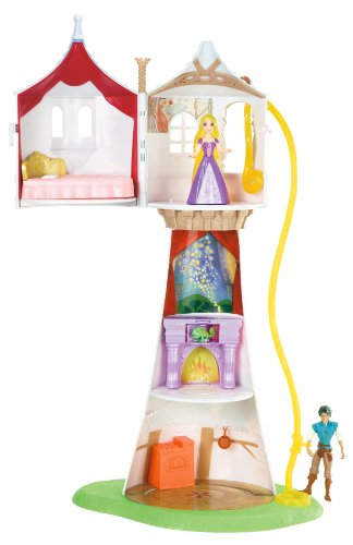Disney Princess Rapunzel Tower with Flynn Playset