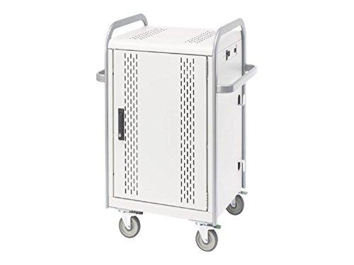 Bretford Store & Charge MDMTAB24Cart Aluminum/Concrete Powder (MDMTAB24-CTAL)