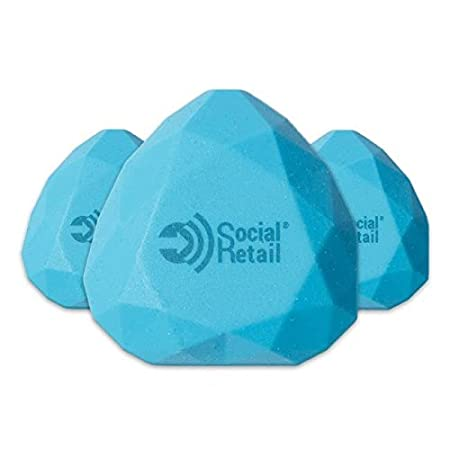iBeacon i8 Water-Resistant Silicone Bluetooth LE 4.0 Programmable Beacon, 3-Pack + 30-Day Free Trial to Digital Social Retail Beacon Management Platform Networking Devices at amazon