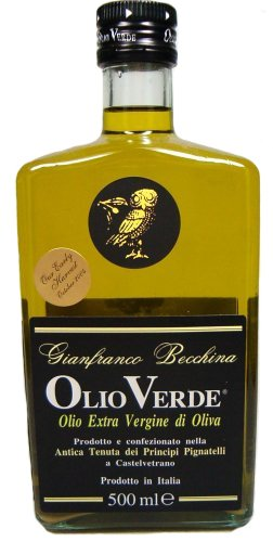 Olio Verde Extra Virgin Olive Oil (Sicily, Italy) 500 ML Bottle