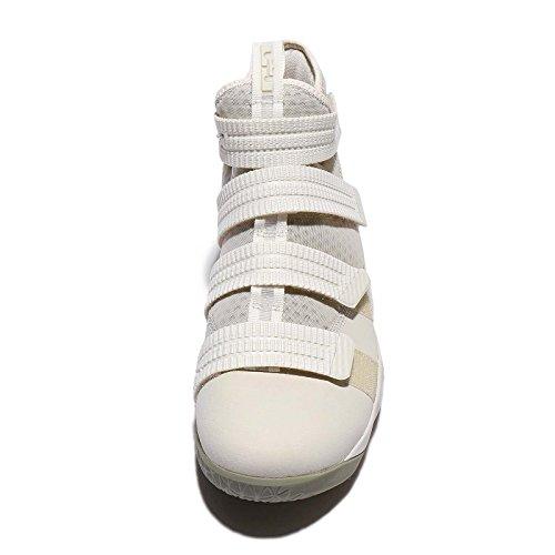 Nike Mens Lebron Soldier Xi Sfg Ep, Osso Leggero / Stucco Scuro-osso Chiaro Nero / Stucco Scuro-nero