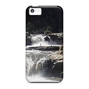 New Diy Design Herbert River Falls Queensl Australia For Iphone 5c Cases Comfortable For Lovers And Friends For Christmas Gifts