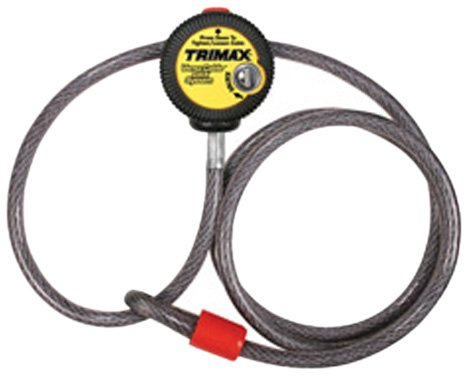Off Road Cables - Trimax VMAX6 Multi-Use Versa Cable Lock (6 ft long x 10mm cable)