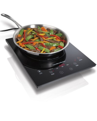 Hamilton Beach 34102 Portable Induction Cooktop (Smooth Cooktop Cookware compare prices)