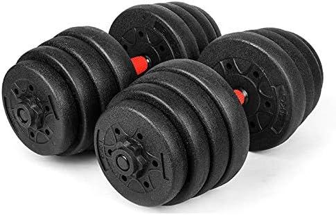 46 cm levantamiento de pesas Moligh doll 1 par de barras de mancuernas para gimnasio