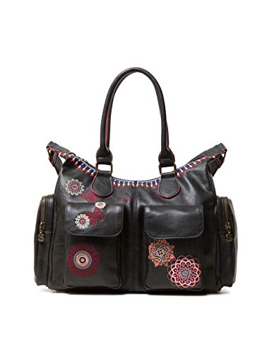London Bag Desigual Portés Chandy Noir Épaule Sacs negro Women OvwBTx