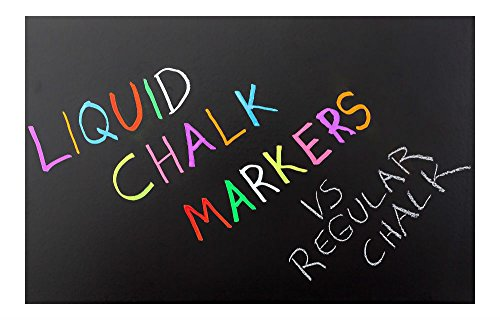 Liquid Chalk Markers (8pc) Erasable Chalkboard Pen for Blackboard (USA) by Unknown (Image #4)