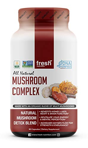 Mushroom Supplement Nootropic Cordyceps Wellness product image