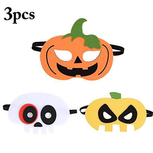 Scary Pumpkin Costumes Child - B bangcool Kids Halloween Masks Party