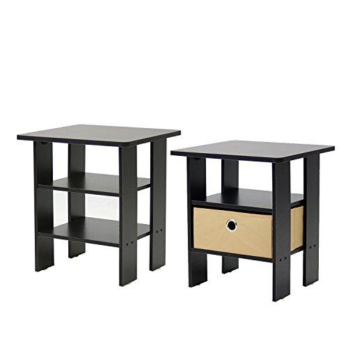 Furinno 2-11157EX End Table Bedroom image 3