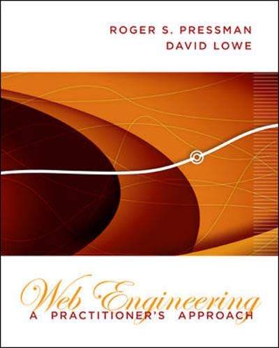 Web Engineering: A Practitioner's Approach