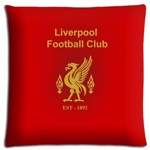 16x16 inch 40x40 cm bench pillow cases Polyester * Cotton fresh Protectors Liverpool Fc (Liverpool Pillowcase)