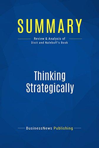 Thinking Strategically Ebook