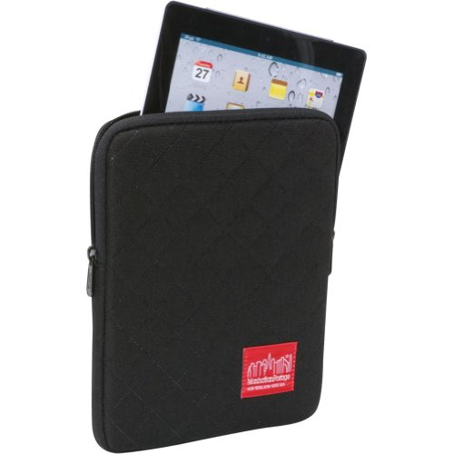 Manhattan Portage Ipad Sleeve (8 Inch-10 Inch) Quilt, Black, One Size