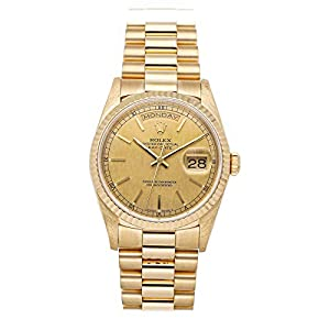 Best Epic Trends 41olzOy-ARL._SS300_ Rolex Day-Date Mechanical (Automatic) Champagne Dial Mens Watch 18238 (Pre-Owned)