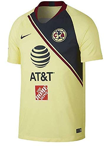 buy online 8a2ef 6a548 Amazon.com : Custom Printing Club America Home Jersey 2018 ...