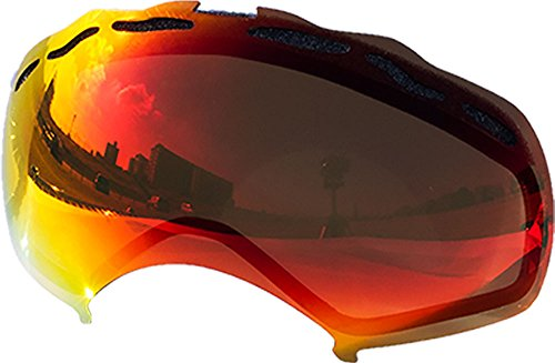 Replacement Lenses For Oakley Splice Snow Goggle Red - Lenses Oakley Replacement 5