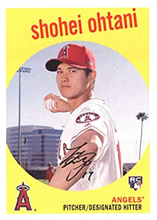 Image result for 2018 topps archives shohei ohtani