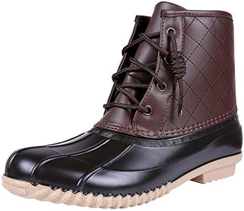 Colorxy Women's Waterproof Duck Boots