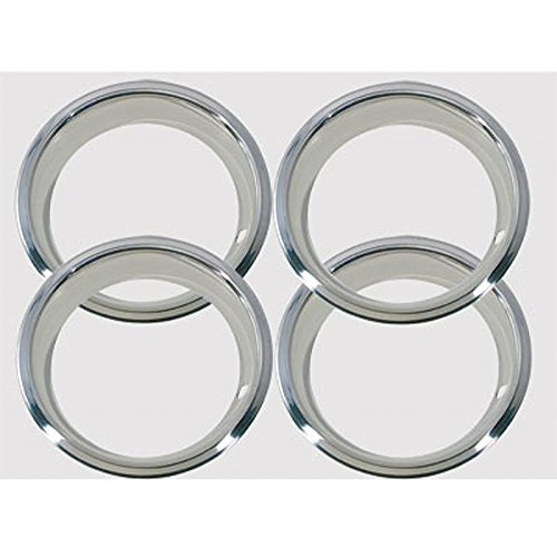 Eckler's Premier Quality Products 55195292 El Camino Wheel Trim Rings 14 x 7 For 5 Spoke SS Wheel by Premier Quality Products (Image #1)