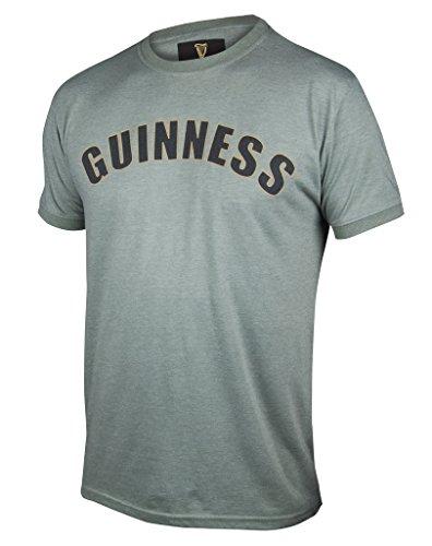 Guinness Cotton Jersey (Guinness Green Heathered Bottle Cap T-Shirt,Green,X-Large)