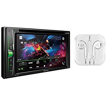 amazon com metra axxess aswc 1 universal steering wheel control pioneer in dash double din 6 2 wvga display built in bluetooth multimedia dvd cd mp3 usb am fm touchscreen dual phone connection car stereo receiver