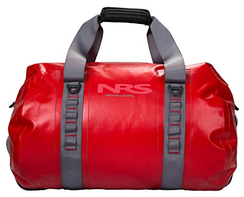 NRS High Roll 70L Duffel Dry Bag (Red) by NRS
