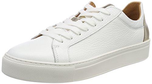Selected Femme Sfdonna Contrast Sneaker, Zapatillas para Mujer Dorado (Gold Colour)