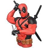 Marvel New Deadpool Bust Bank Action Figure