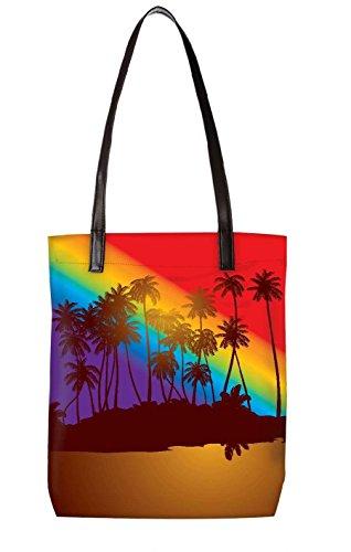 Borsa Da Spiaggia Snoogg, Multicolore (multicolore) - Ltr-bl-5410-totebag
