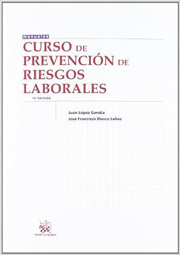 Curso de prevención de Riesgos laborales: Amazon.es: Juan ...