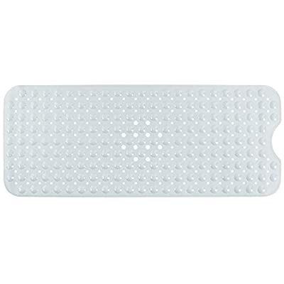 Yimobra Original Bath Tub and Shower Mat Extra Long 16 x 40 Inch,Phthalate Free,Latex and Machine Washable Large Materials