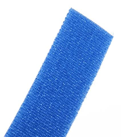 Blue 6.0-Inch Length Panduit HLS1.5S-X6 Hook and Loop Strip Cable Tie 10-Pack